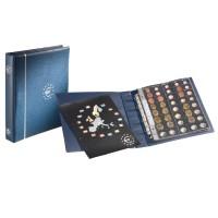 Альбом  Optima Euro с 5 листами на 25 наборов монет евро