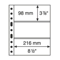 Лист GRANDE 3C для бон на 3 ячейки