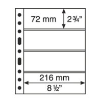 Лист GRANDE 4C для бон на 4 ячейки