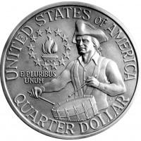 25 центов Барабанщик (200 лет Независимости)