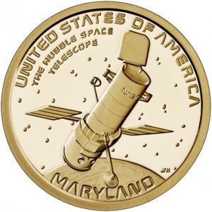 """1 доллар США Американские инновации - Космический телескоп """"Хаббл"""" (2020 года)"""
