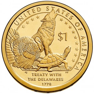 1 доллар США. Договор с Делаварами