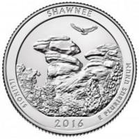 25 центов 31-ый парк Национальный лес Шоуни