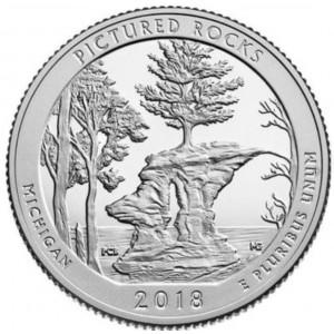 25 центов 41-ый парк Национальное побережье живописных камней