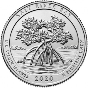 25 центов 53-ий парк Национальный исторический парк и экологический заповедник Бухта Соленой Реки