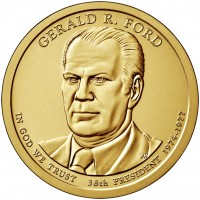 1 доллар 38-ой Президент Джеральд Форд