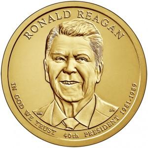 1 доллар 40-ой Президент Рональд Рейган