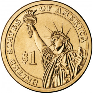 1 доллар 5-ый Президент Джеймс Монро