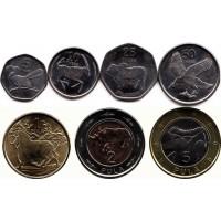 """Набор монет Ботсваны """"Животные"""" (2013г)"""