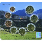 Набор монет Евро (Андорра, 2017 года)