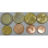 Набор монет Евро (Эстония, 2011)