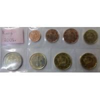 Набор монет Евро (Кипр, 2008)