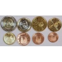 Набор монет Евро (Испания, 2004)