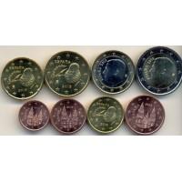 Набор монет Евро (Испания, 2015)