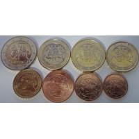 Набор монет Евро (Литва, 2015)