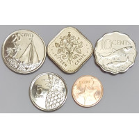 Набор монет Багамских Островов (2005-2015 года)