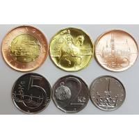 Набор монет Чехии (2009-2014 года)