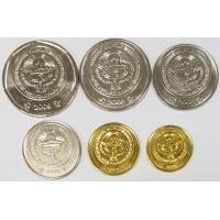 Набор монет Киргизии (2008-2009 года)
