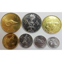 Набор монет Мальдив (2007-2012 года)