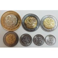 Набор монет Мексики (2016-2017 года)