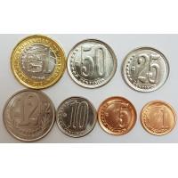 Набор монет Венесуэлы (2007-2012 года)