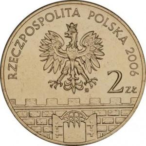 Исторические города Польши: Бохня (2 злотых, Польша, 2006 года)