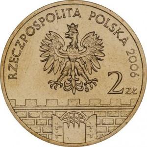 Исторические города Польши: Хелм (2 злотых, Польша, 2006 года)