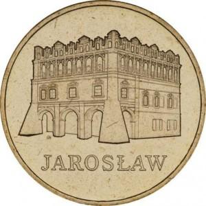 Исторические города Польши: Ярослав (2 злотых, Польша, 2006 года)