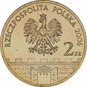 Исторические города Польши: Калиш (2 злотых, Польша, 2006 года)