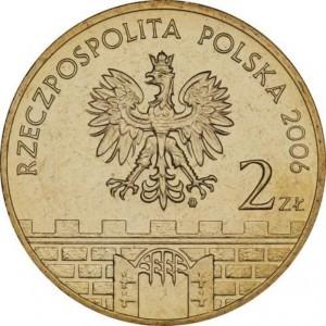 Исторические города Польши: Ныса (2 злотых, Польша, 2006 года)