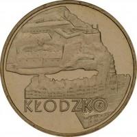 Исторические города Польши: Клодзко (2 злотых, Польша, 2007 года)