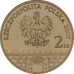 Исторические города Польши: Квидзын (2 злотых, Польша, 2007 года)