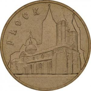 Исторические города Польши: Плоцк (2 злотых, Польша, 2007 года)