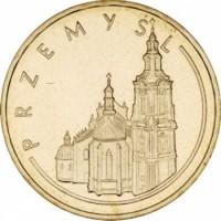 Исторические города Польши: Пшемысль (2 злотых, Польша, 2007 года)