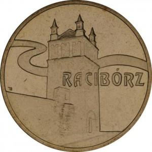 Исторические города Польши: Рацибуж (2 злотых, Польша, 2007 года)