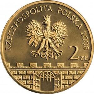 Исторические города Польши: Бельско-Бяла (2 злотых, Польша, 2008 года)