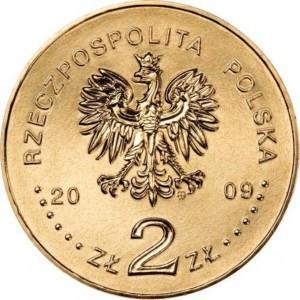 Города Польши: Енджеюв (2 злотых, Польша, 2009г)