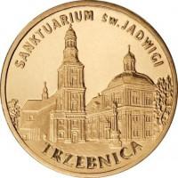 Города Польши: Тшебница (2 злотых, Польша, 2009г)