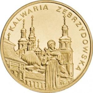 Города Польши: Кальваря-Зебжидовская (2 злотых, Польша, 2010г)