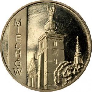 Города Польши: Мехув (2 злотых, Польша, 2010г)