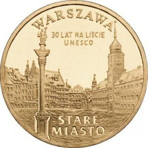 Города Польши: Варшава - Старый город (2 злотых, Польша, 2010 года)
