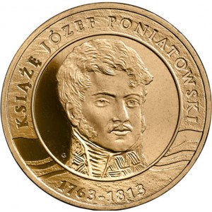 200-летие со дня смерти князя Юзефа Понятовского (2 злотых, Польша, 2013 года)